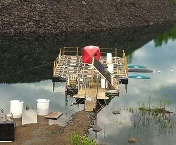 Field testing, summer 2014.